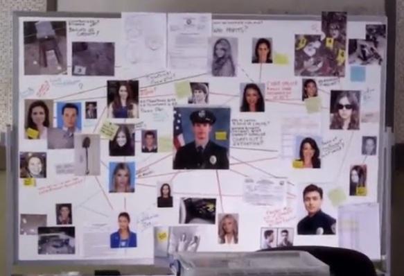 police-evidence-board